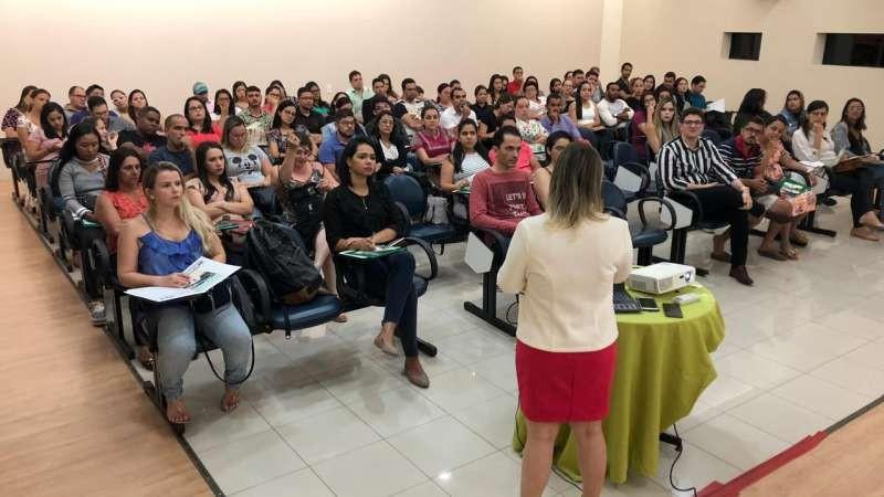 O 1º módulo da 4ª edição do Curso para Gestantes, que teve início nesta terça-feira (12), reuniu mais de 50 grávidas