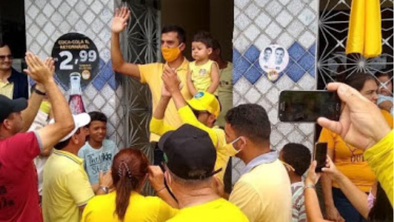 Candidato a prefeito pelo PSDB passou uma semana hospitalizado na cidade de Caruaru, devido a infecção pela Covid-19