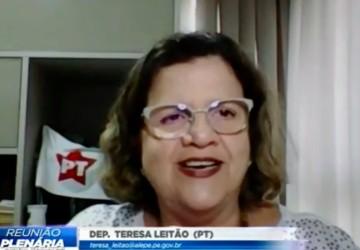 Teresa Leitão expõe problemas causados pelo Itaú a servidores públicos