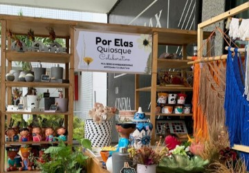 Shopping ETC recebe ação colaborativa de produtos artesanais feito por mulheres