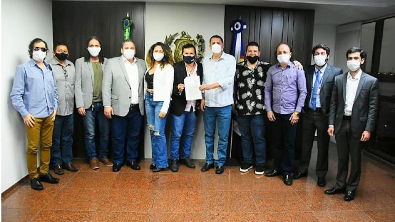 A intermediação do chefe do poder legislativo foi demandada pelo coletivo de artistas em primeiro encontro no último dia 19