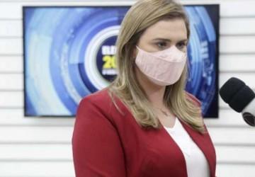 Marília apresenta propostas durante debate na TV Clube