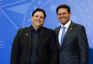 Felipe Dornellas prestigia a posse do amigo João Roma como Ministro da Cidadania