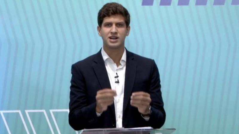 Candidato a prefeito do Recife apresentou suas propostas para o saneamento, falou sobre gestão metropolitana e destacou principais programas para geração de emprego e renda