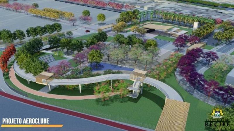 Além do Parque Aeroclube, Upinha, creche, econúcleo e ParCão, os investimentos serão também em infraestrutura e preservação ambiental e histórica