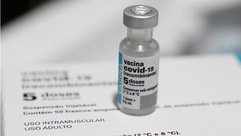 Foram entregues 17.550 doses do imunizante, além de mais 267.250 unidades da Astrazeneca/Fiocruz
