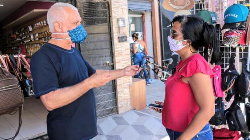 O pré-candidato visitou esta semana moradores do Janga, Pau Amarelo e Maria Farinha e discutiu temas como turismo, saneamento, educação e geração de empregos.