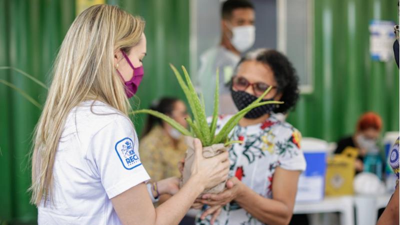 Ação no Parque da Macaxeira e na UFPE marcou o encerramento da Semana do Meio Ambiente