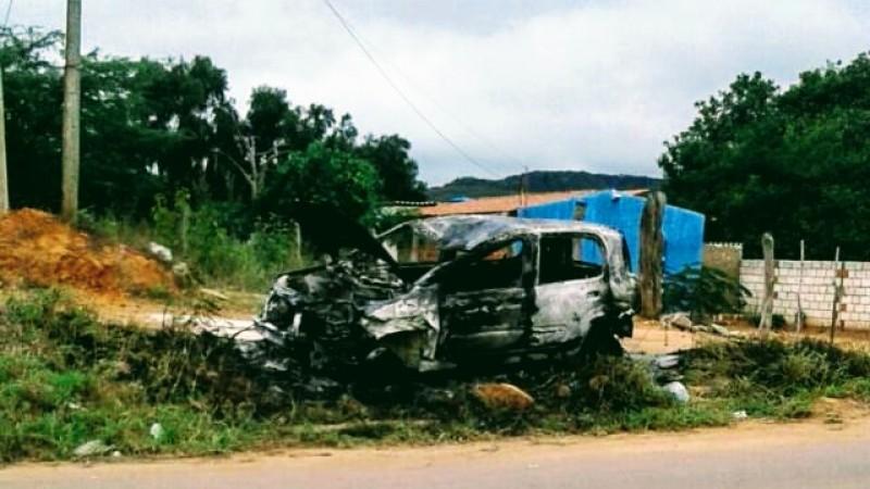 Suspeito de provocar o acidente é um jovem de 19 anos, que fugiu do local sem prestar socorro à vítima