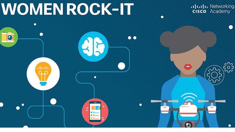 Iniciativa Women Rock IT oferecerá 1.000 vagas para capacitação com reconhecimento internacional em redes