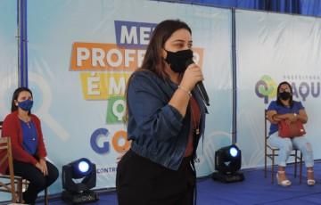 Em Jaqueira, prefeita Ridete Pellegrino anuncia aula de zumba para população