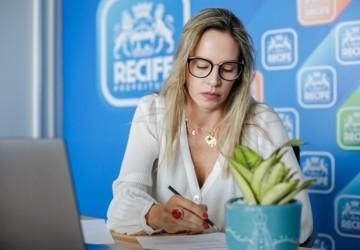 Vice-prefeita Isabella de Roldão apresenta avanços do Recife no enfrentamento à emergência climática durante o Daring Cities 2021