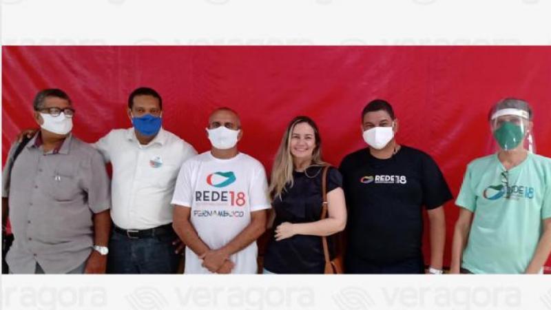 Hoje pela manhã membros da REDE SUSTENTABILIDADE Pernambuco e Recife anunciaram um manifesto em apoio a candidatura a prefeita do Recife, Marília Arraes (PT).