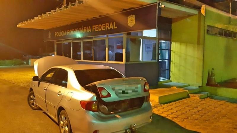 Veículo foi tomado em assalto no ano de 2012, de acordo com a PRF
