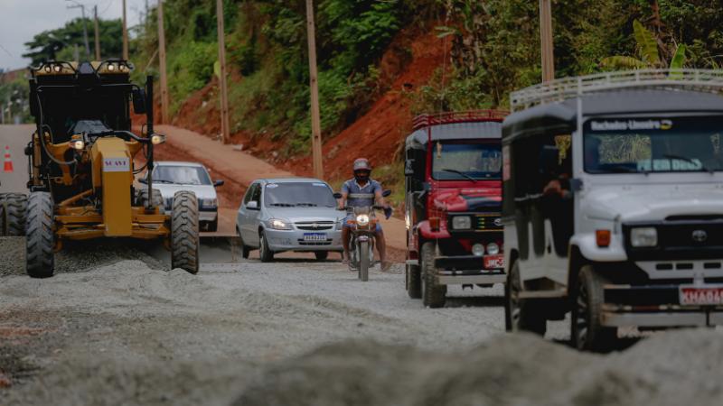 Rodovia que dá acesso a Machados será totalmente recuperada, beneficiando 16 mil habitantes do município e ampliando o escoamento da produção