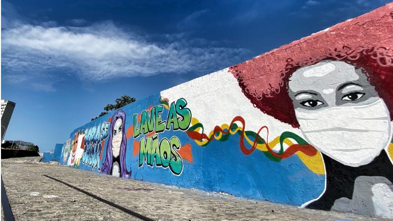 Intervenções artísticas propostas pela Secretaria de Turismo e Lazer integram as ações para o período inédito de não-folia