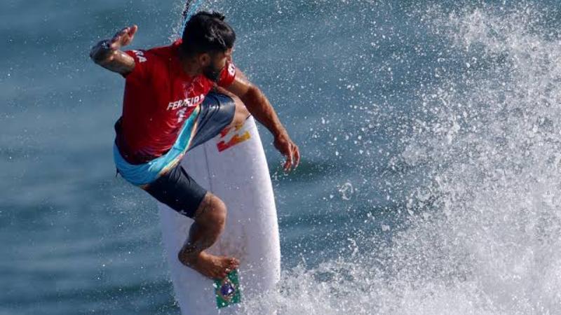 O Nordestino conquistou a primeira medalha olímpica do surf e a primeira do Brasil nesta Olimpíada
