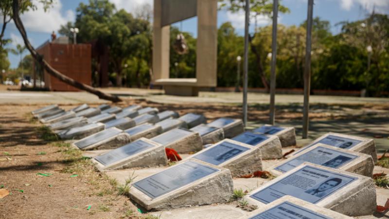 Intervenção requalifica 42 placas, que já foram alvo de vandalismo, e entrega importante espaço para familiares e amigos de vítimas da ditadura militar
