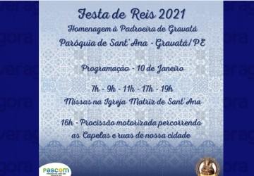 Confira a programação religiosa da Festa de Reis em Gravatá