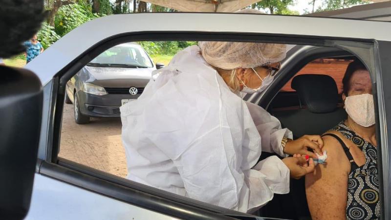 Com esse quantitativo será possível imunizar aproximadamente 90% dos idosos do município com idade a partir de 80 anos