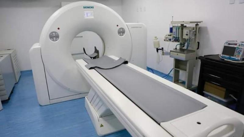 O governador Paulo Câmara esclareceu que o novo equipamento vai agilizar o diagnóstico dos pacientes, que antes precisavam ser transferidos para realizar exames.