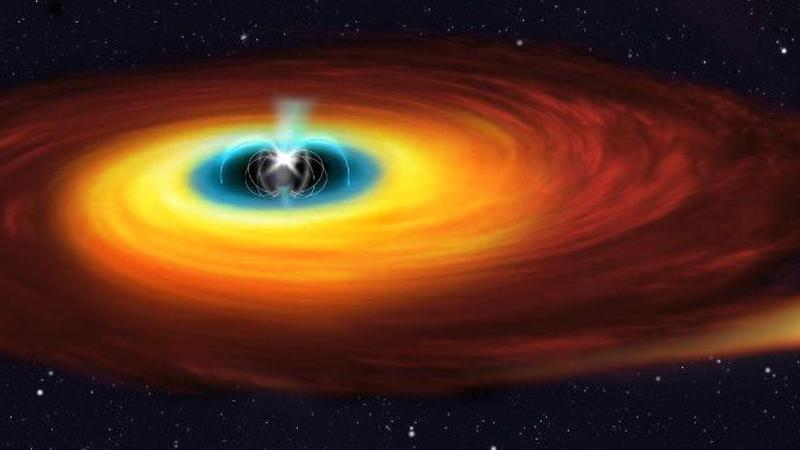 Estrela anã branca leva 29,6 segundos para dar volta ao redor de si