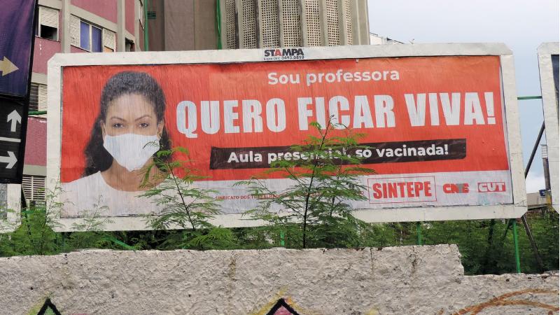 O Sintepe representa professores e professoras, servidores administrativos e analistas da rede pública estadual de Pernambuco.