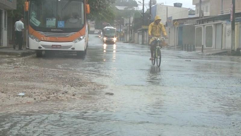 Mau tempo também é previsto no Grande Recife, na Mata Norte e Mata Sul