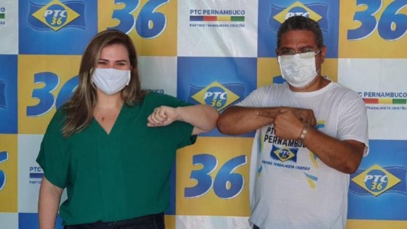 Partido foi parceiro de primeira hora nas eleições do Recife ano passado na candidatura da deputada à prefeitura do Recife