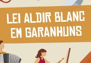 Garanhuns divulga resultado de primeira fase dos editais da Lei Aldir Blanc