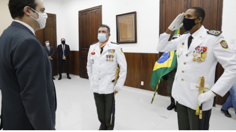 A solenidade foi realizada no Salão Nobre do Quartel do Derby, sede da Polícia Militar em Pernambuco.