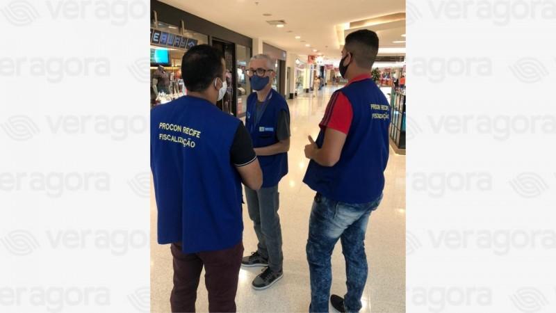 Levantamento foi realizado em 25 estabelecimentos no Recife, sendo 22 lojas físicas e três virtuais