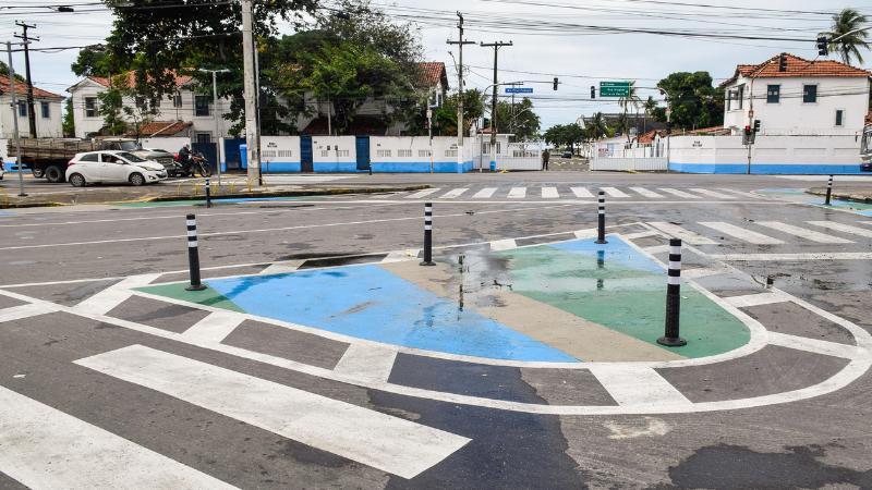 Projeto dará possibilidades de travessias mais seguras aos pedestres que passam no entorno do Hospital de Câncer e Shopping Tacaruna