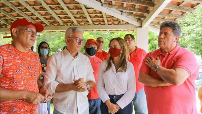 Marinho foi do grupo de Elias Gomes durante 24 anos e ocupou cargos importantes, como secretário de Agricultura e Superintendente de Ordem Pública